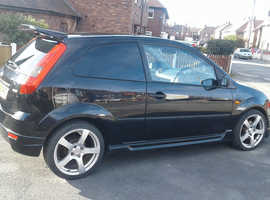 for sale ford fiesta mk6 van 1.4tdci turbo part service history 48370miles