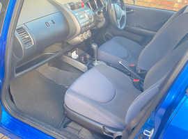 Honda Jazz, 2007 (56) Blue Hatchback, Cvt Petrol, 64,707 miles