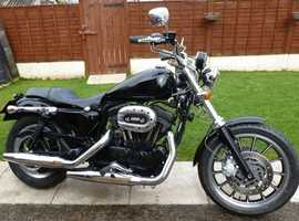 2005 HARLEY DAVIDSON SPORTSTER 1200 WITH MANY EXTRAS