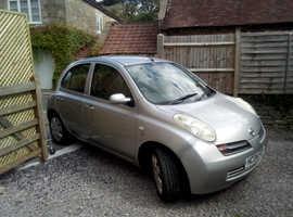 Nissan Micra, 2004 (04) Silver Hatchback, Manual Diesel, 86,860 miles