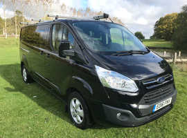 2016 FORD TRANSIT CUSTOM 290 LIMITED CREW VAN 125PS 2.2 TDCI
