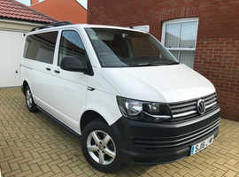 Volkswagen Transporter Shuttle 2016 (16 reg) SWB 2.0 TDI BlueMotion, Twin Electric Sliding doors