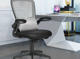 Costway Ergonomic Height Adjustable Office Chair with Massage Pillow 90816532