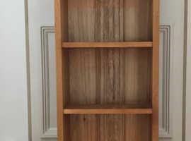 Book case, solid english oak