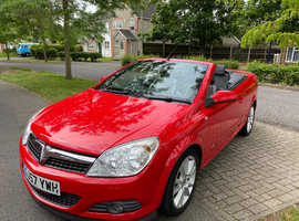 Vauxhall Astra, 2007 (57) Red Convertible, Manual Petrol, 89,000 miles