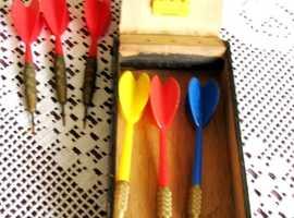 5 sets of dart sets 1970-1995