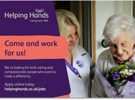Do something amazing with your life... Become a Community Care Assistant