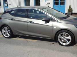 Vauxhall Astra, 2017 (17) Grey Hatchback, Manual Diesel, 85000 miles