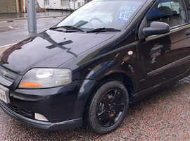 Chevrolet Kalos, 2007 (07) Black Hatchback, Manual Petrol, 101,791 miles