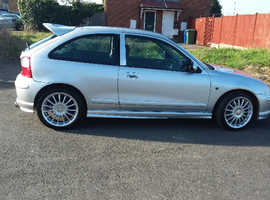 MG Zr, 2004 (53) Silver Hatchback, Manual Petrol, 87,500 miles