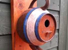 decorative teapot bird box