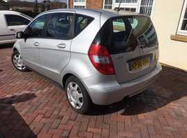 Mercedes A-CLASS, 2008 (58) Silver Hatchback, Manual Diesel, 91,000 miles