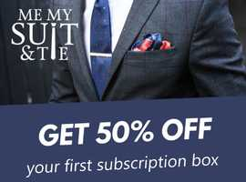 50% off Men Style Box first subscription