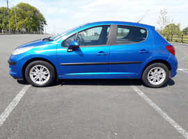 Peugeot 207, 2008 (57) Blue Hatchback, Manual Diesel, 109,000 miles