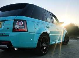 Rare Tiffany&Co Range Rover Sport 4.2 Supercharged.
