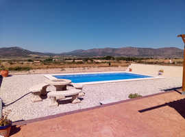 5/6bed off grid villa with pool & stunning mountain views nr Alicante Spain