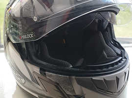 Motorbike helmet, jacket and trousers for sale