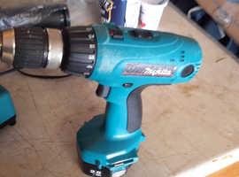 Makita Cordless drill and charger.