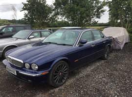 Jaguar Xj, 2004 (04) Blue Saloon, Automatic Petrol, 150,000 miles