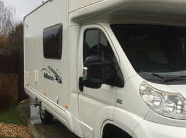 5 Berth Ace Milano, 4 travelling seat belts, 42,850miles