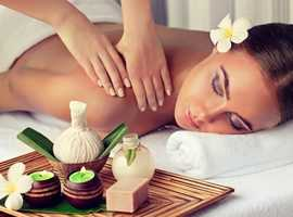 60 min Full Body massage ,30 min Swedish and 20 min Indian Head Massage by Professional Beauty Therapist