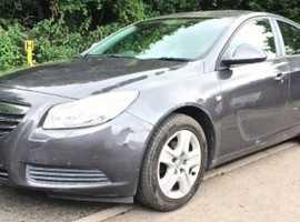 Vauxhall Insignia, 2011 (11) Grey Hatchback, Manual Diesel, 136,000 miles