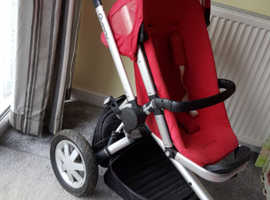 Quinny buzz stroller with carry cot and  loads of extras