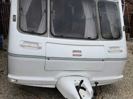 5 berth Fleetwood caravan