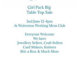 Girl Pack Big Table Top Sale