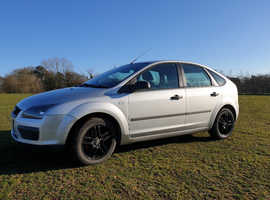 Ford Focus,1.6 TDCI  2005 (54) Silver Hatchback, Manual Diesel, 165K  miles