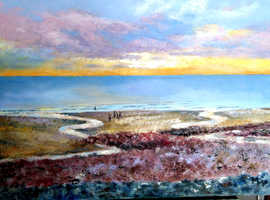 Tranquility and Reflection - Art Exhibition by Maggie Murphy