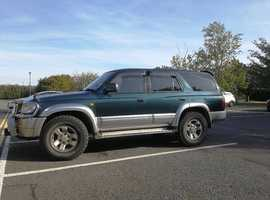 Toyota HI LUX, 2002 (52) Green 4x4, Automatic Diesel, 198,400 miles