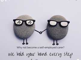 Why not become a self-employed carer?