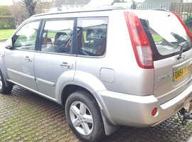 Nissan X-TRAIL, 2005 (54) Silver Estate, Manual Diesel, 132,971 miles