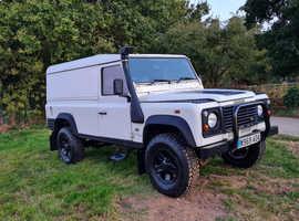 Land Rover 110, 2000 (W) White 4x4, Manual Diesel, 192,000 miles
