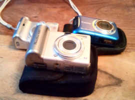 3 camera's for sale