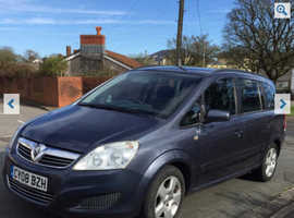 AUTOMATIC 08 Vauxhall Zafira Diesel*Full Service*7 Seats*Low Miles*BARGAIN £2550!