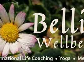 """Yoga for """"every-body"""" - join me online every Monday evening for an hour of yoga and relaxation"""