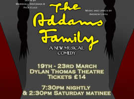 The Addams Family, A Musical Comedy performed by SAOS