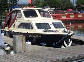 Great boat for inland waterways or offshore.