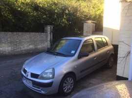 Renault Clio, 2005 (05) Silver Hatchback, Manual Diesel, 145,429 miles