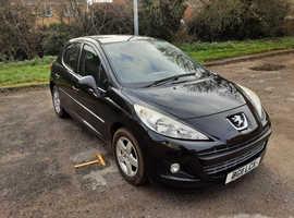 Peugeot 207, 2011 (11) Black Hatchback, Manual Petrol, 78.468 miles