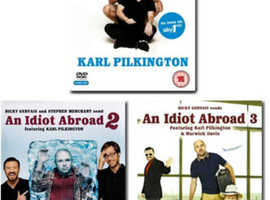 An Idiot Abroad Complete series 1, 2 & 3
