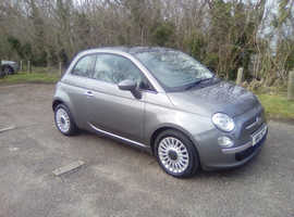 Fiat 500, 2011 (11) Grey Hatchback, Manual Petrol, 65,500 miles