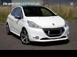 Peugeot 208 XY, 2014 (14) White Hatchback, Manual Diesel, 51,000 miles