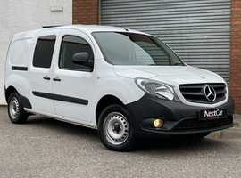 Mercedes Benz Citan 1.5 109 CDi BlueEFFICIENCY Dualiner Van Very Low 16,000 Miles Only!....No Vat!....Why Buy New?