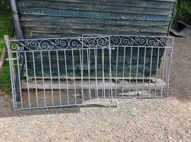 Galvanised Drive Gates