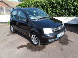 Fiat Panda, 2006 (06) Black Hatchback, Manual Petrol, 65,000 miles