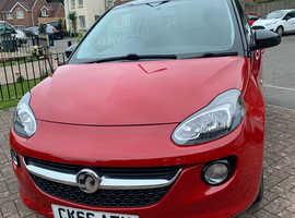 Vauxhall Adam, 2016 (66) Red Hatchback, Manual Petrol, 33,356 miles