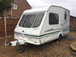 Bargain Swift 2 Berth 2001 Light Weight Caravan Excellent Condition & Full Size Awning.